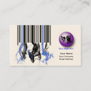 Barcode business cards zazzle salesretail barcode business card colourmoves