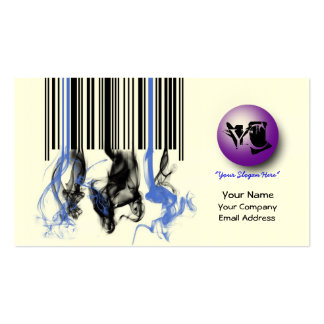Sales/Retail Barcode Business Card