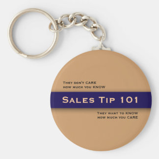 Sales Tip 101 Motivational Selling Key Chain