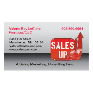 Sales Up Business Card