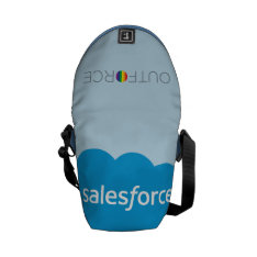 Salesforce Logo - New Courier Bag at Zazzle