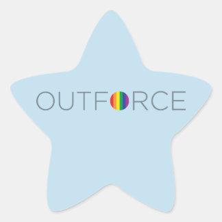 Salesforce Logo - NEW Star Sticker