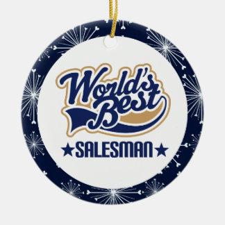 Salesman Gift Ornament