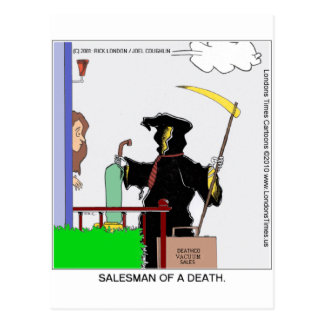 Salesman Of A Death Funny Gifts Cards Tees & Mugs