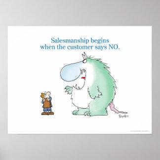 SALESMANSHIP poster by Sandra Boynton
