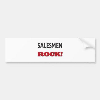 Salesmen Rock Car Bumper Sticker