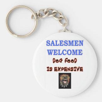 SALESMEN WELCOME KEYCHAIN