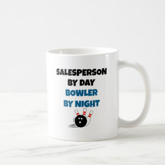 Salesperson Bowler Coffee Mugs