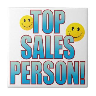 Salesperson Life B Ceramic Tile