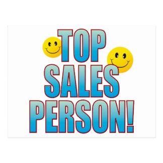 Salesperson Life B Postcard