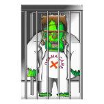Salga de cárcel  papeleria de diseño