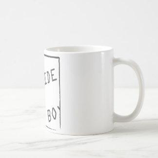Salga de esa caja taza de café