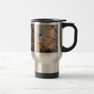 Salga de la bañera de Edgar Degas Taza De Café