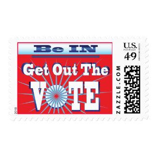 Salga de los sellos de las elecciones del VOTO