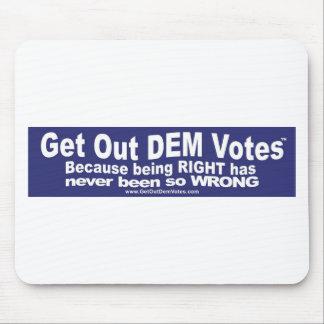 Salga de los votos del DEM - camisetas, pieles, y Alfombrillas De Raton