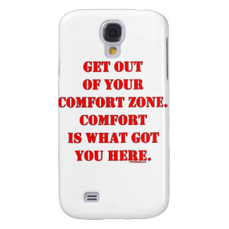 ¡Salga de su zona de comodidad! Funda Para Galaxy S4