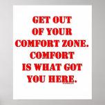 ¡Salga de su zona de comodidad! Impresiones