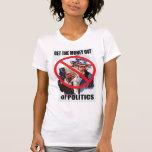¡Salga el dinero! Camiseta