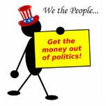 Salga el dinero de política escultura fotografica