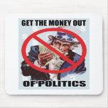 ¡Salga el dinero! Mousepad Alfombrillas De Raton