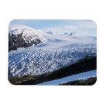 Salga el glaciar en parque nacional de los fiordos imanes rectangulares