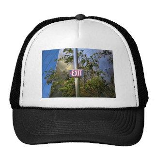 Salga la muestra gorras de camionero