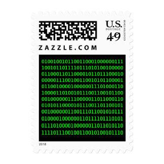 Salga más - del código binario sello