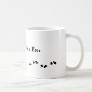 Salga, perseguido por un oso tazas de café