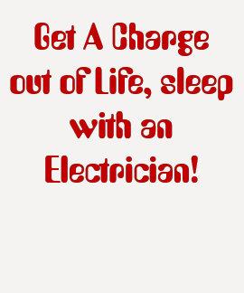 Salga una carga de la vida sueño con un Electri… Camisetas