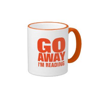 Salgo estoy leyendo las tazas de café divertidas