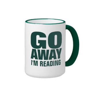 Salgo, estoy leyendo las tazas de café divertidas