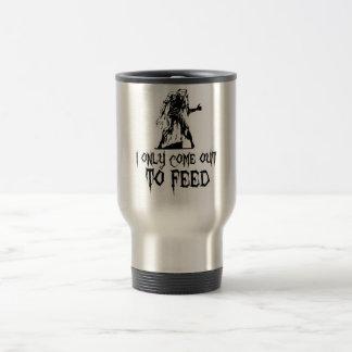 Salgo solamente alimentar al zombi taza de café