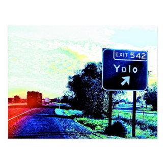 Salida 542 Yolo California Postales