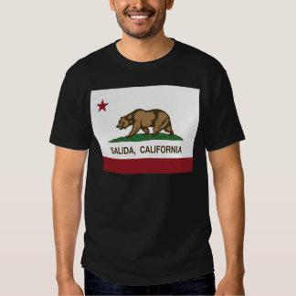 salida california state flag t-shirts