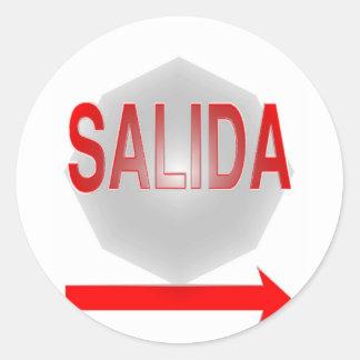 SALIDA CLASSIC ROUND STICKER