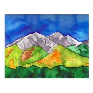 """Salida, CO Mountains"" Postcard"