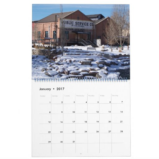 Salida Colorado, 2012 Calendar