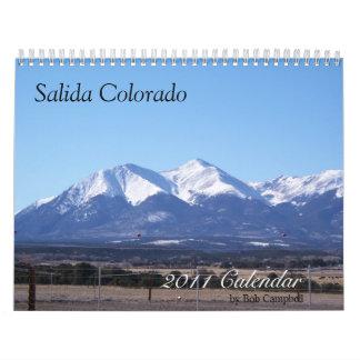 Salida Colorado, calendario 2011