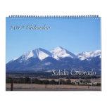 Salida Colorado, calendario 2012