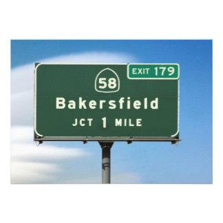 Salida de Bakersfield Comunicados