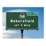 Salida de Bakersfield Postal