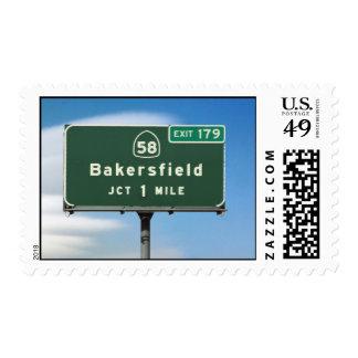 Salida de Bakersfield Sellos