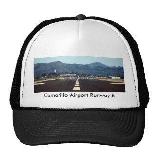 Salida de Camarillo, pista 8 del aeropuerto de Cam Gorras De Camionero