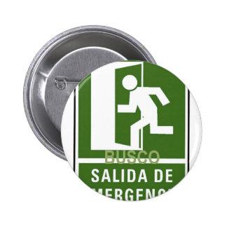 SALIDA DE EMERGENCIA BUTTONS