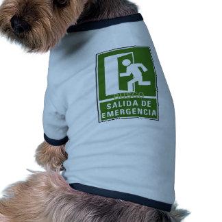 SALIDA DE EMERGENCIA DOG CLOTHING