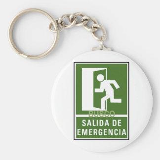 SALIDA DE EMERGENCIA KEY CHAIN