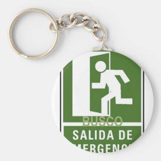SALIDA DE EMERGENCIA KEY CHAINS