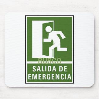 SALIDA DE EMERGENCIA MOUSE PADS
