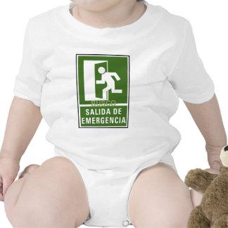 SALIDA DE EMERGENCIA BABY BODYSUIT