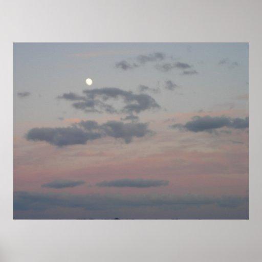 Salida de la luna impresiones
